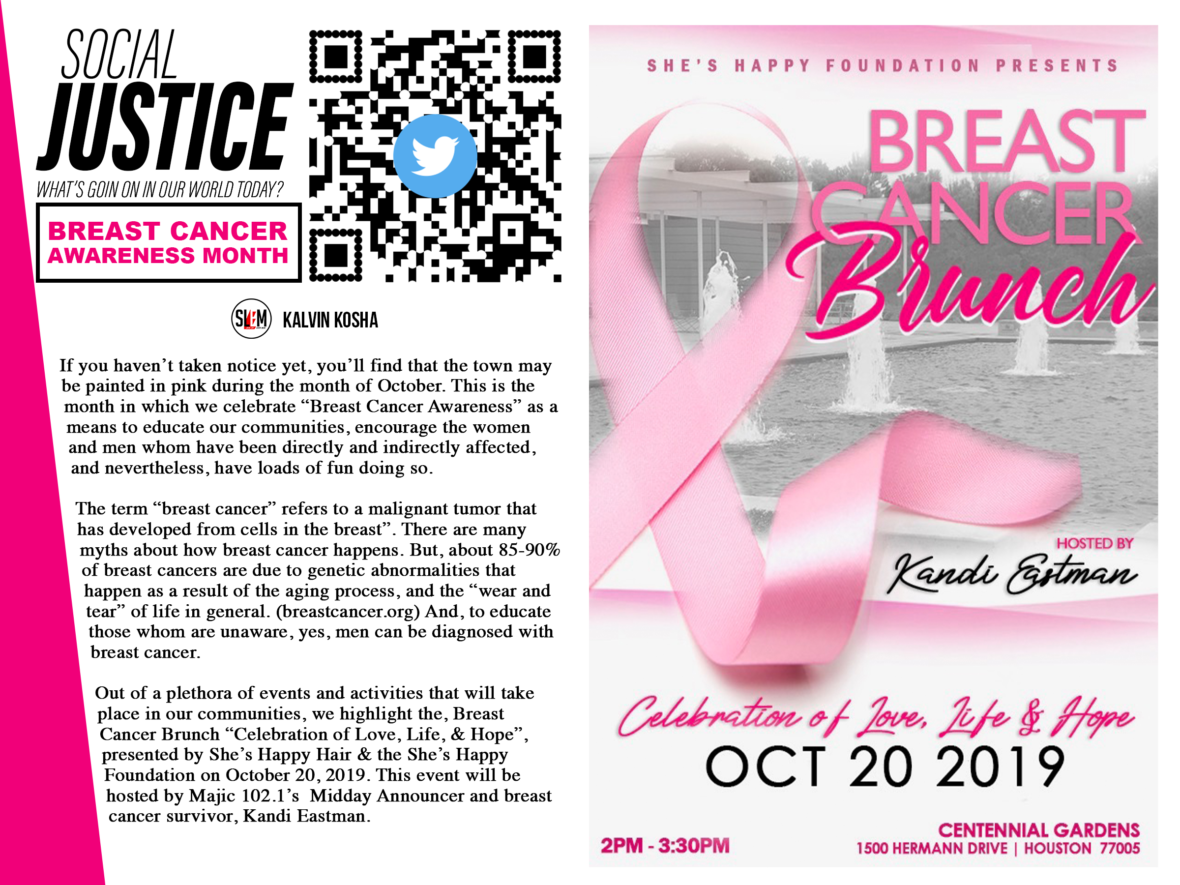 BREAST CANCER BRUNCH (She's Happy Foundation) Hosted by Kandi Eastman